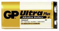 Alkalická baterie 9V blistr GP Ultra Plus Alkaline