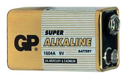 Alkalická baterie 9V GP Super Alkaline GP Batteries