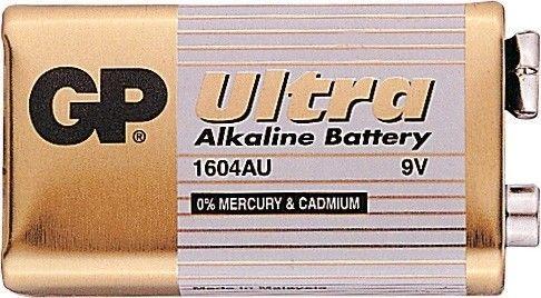 Alkalická baterie 9V GP Ultra Alkaline GP Batteries
