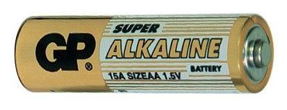Alkalická baterie AA, LR6, tužka GP Super Alkaline GP Batteries