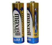 Alkalická baterie AA, LR6, tužka Maxell