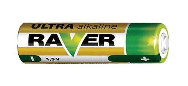 Alkalická baterie AAA, LR03 RAVER GP Batteries