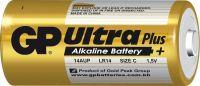 Alkalická baterie C, LR14 blistr GP Ultra Plus Alkaline