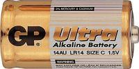Alkalická baterie C, LR14, malé mono  GP Ultra Alkaline