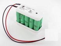 Baterie 12V 2,0Ah NiMh typ Besam 550475, 550473, Slimdrive ADS