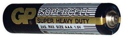 Baterie AAA, LR03, mikrotužka GP Supercell GP Batteries
