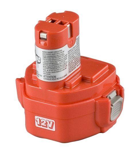 Baterie Makita 1220, 1222, 1233, 1234, 1235, 1235F - 12V - 3000mAh Ni-MH, články Panasonic Sanyo / Panasonic