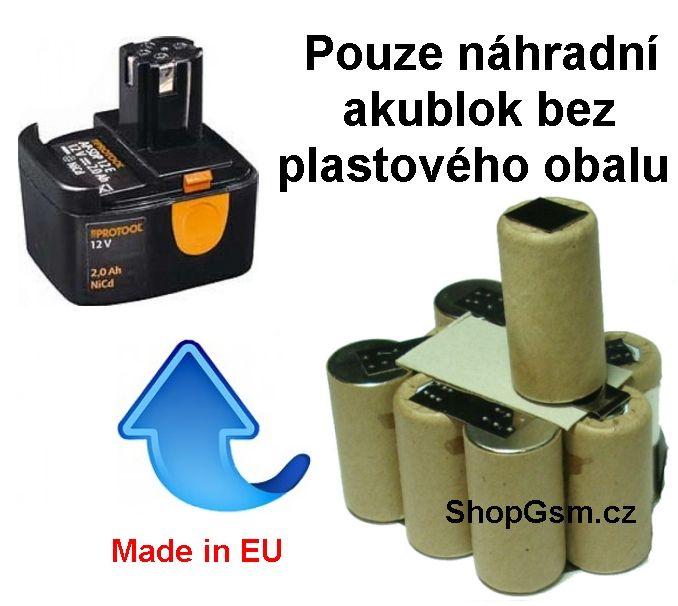 Baterie Narex AP-ASV 12 BE 1,7 Ah NiCd - KIT Sanyo Sanyo / Panasonic