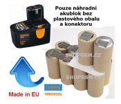 Baterie Protool AP-DSP-12E 12V - KIT články SANYO 2000mAh