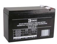 Bezúdržbový olověný akumulátor 12V 9Ah faston 6,3mm