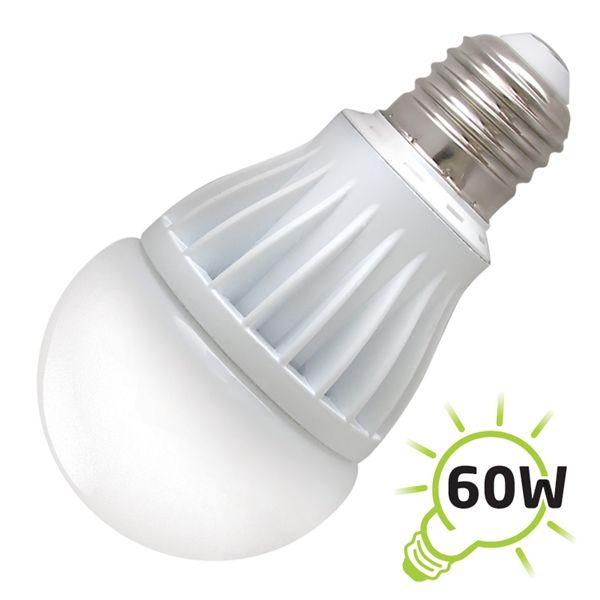 LED žárovka A60, E27/230V, 10W - bílá teplá OEM