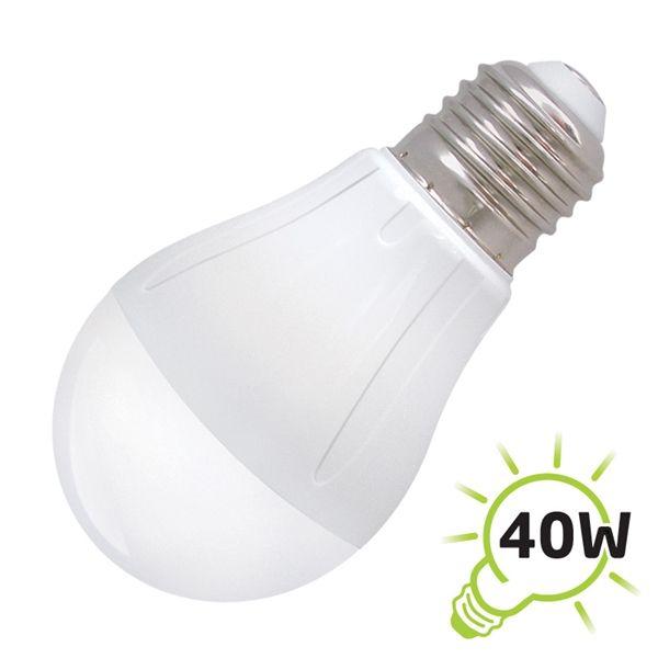 LED žárovka A60, E27/230V, 5W - bílá teplá OEM