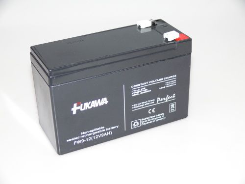 Olověný gelový akumulátor 12V / 9Ah, rozměr 151 x 65 x 100mm Fukawa