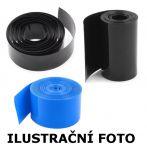 Teplem smršťovatelná fólie 120BK, 120-76mm, černá