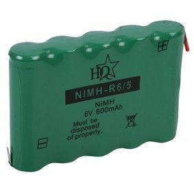 Akumulátor s vývody 6V - 600mAh - Ni-MH Kinetic