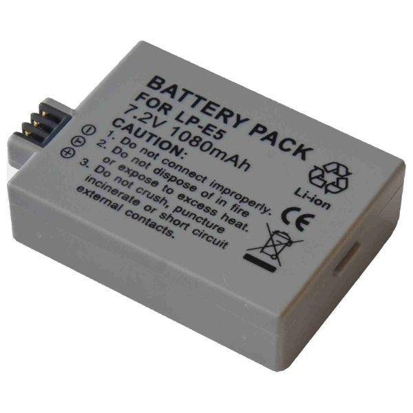 Baterie Canon LP-E5 - 1600mAh Li-Ion DigitalPower