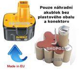 Baterie Dewalt DE9074 - 12V 2500 mAh - akublok Panasonic