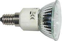 Žárovka LED E14 JDR - 20x LED, bílá, 230V