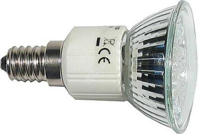 Žárovka LED E14 JDR - 20x LED, bílá, 230V OEM